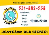 Telefon Zaufania - plakat
